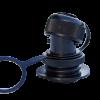 SLINSHOT DONKEY DIK-MOLDED BLACK W/4MM SCREW