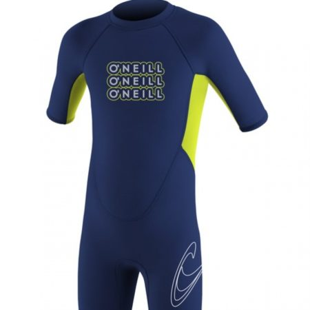 Oneill Toddler 2 mm Reactor Spring Navy Lime size:4 NEOPRENE o'neill