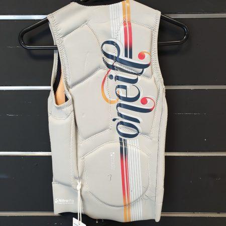 O'Neill WMS Gooru Padded Vest size:6 NEOPRENE STOCK WALL o'neill