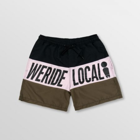 SWE RIDE LOCAL PRINGBREAK DARK BOARDSHORTS size:M APPAREL apparel