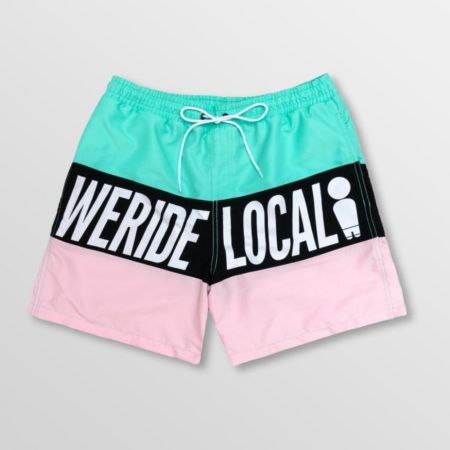 WE RIDE LOCAL SPRINGBREAK LIGHT BOARDSHORTS size:L