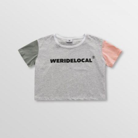 WERIDELOCAL DARK SUPERSTAR CROP TOP