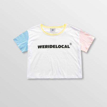 WERIDELOCAL LIGHT SUPERSTAR CROP TOP