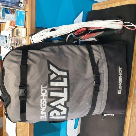 Slingshot Rally 12m 2016 with Slingshot Sentinel 20×23 Bar